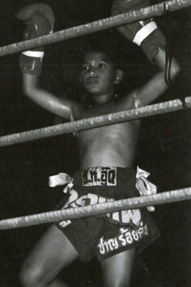 Boxeur thaïlandais de 40 ans
