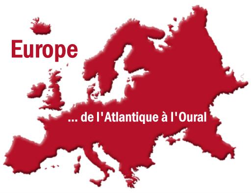 Une Europe réunie, de l'Atlantique à l'Oural