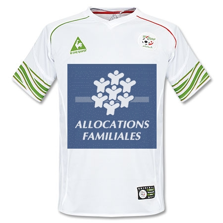 Maillot officiel de l'équipe de football de l'Algérie, coupe du monde 2010