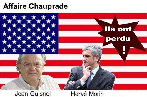 Affaire Chauprade. Jean Guisnel et Hervé Morin
